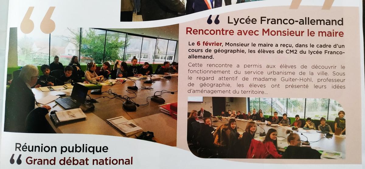 Veranstaltungen Lycee Franco Allemand